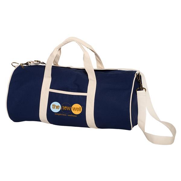 12 oz. Cotton Duffel Bag