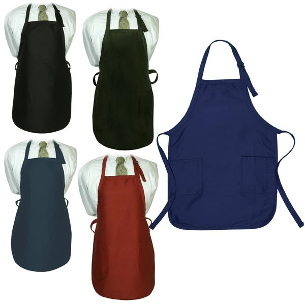 LogoTec Gourmet Apron with Pockets - Dark Colors