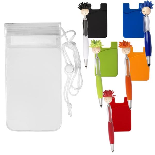 Mop Topper™ Pen Pocket Water-Resistant Pouch Kit