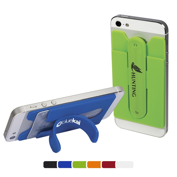Quick-Snap Mobile Device Pocket/Stand