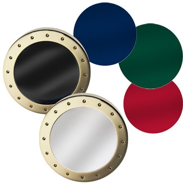 2 Piece Brass Magnifier Paper Weight
