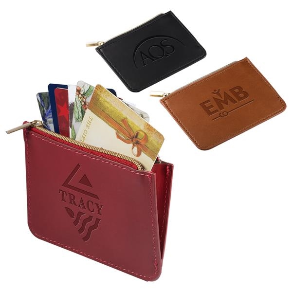 Tuscany™RFID Zip Wallet Pouch