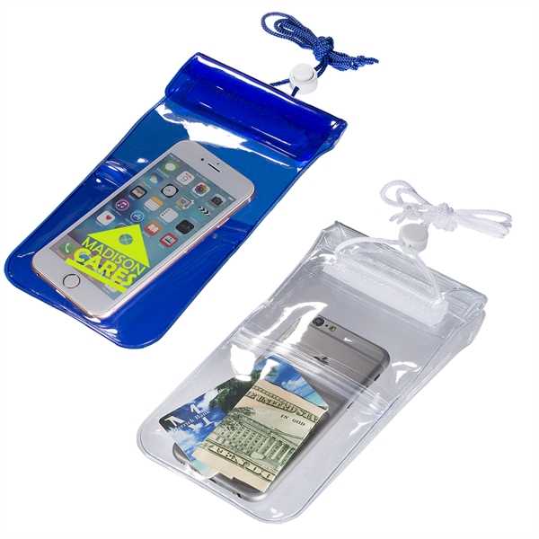 Water-Resistant Pouch w/ Extra Pocket