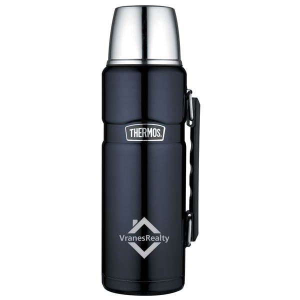 Thermos® Stainless King™ Beverage Bottle - 40 Oz.