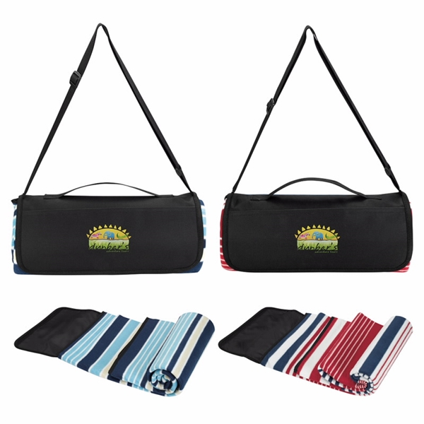 Shoulder Strap Picnic Blanket