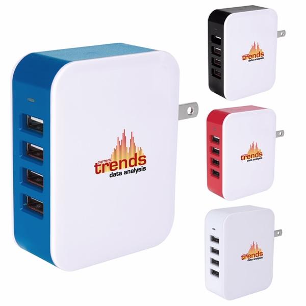 4-Port USB Wall Adapter