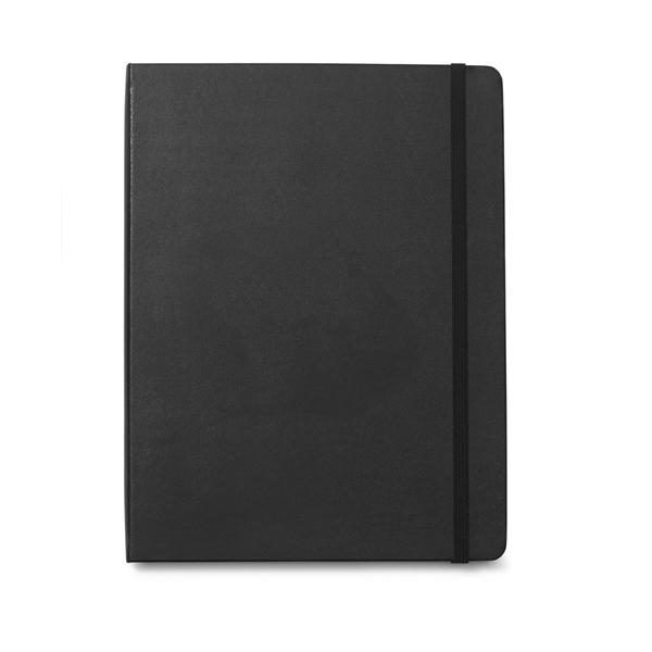 Moleskine® Hard Cover Ruled X-Large Professional Notebook