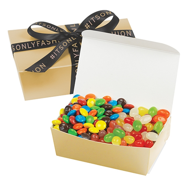 Treasure Chest With M&M's® & Jelly Beans