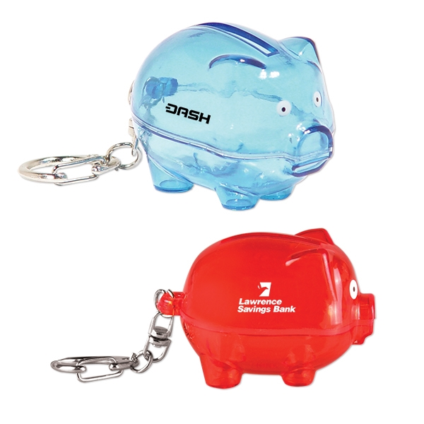 Smash-It Piggy Bank Keychains