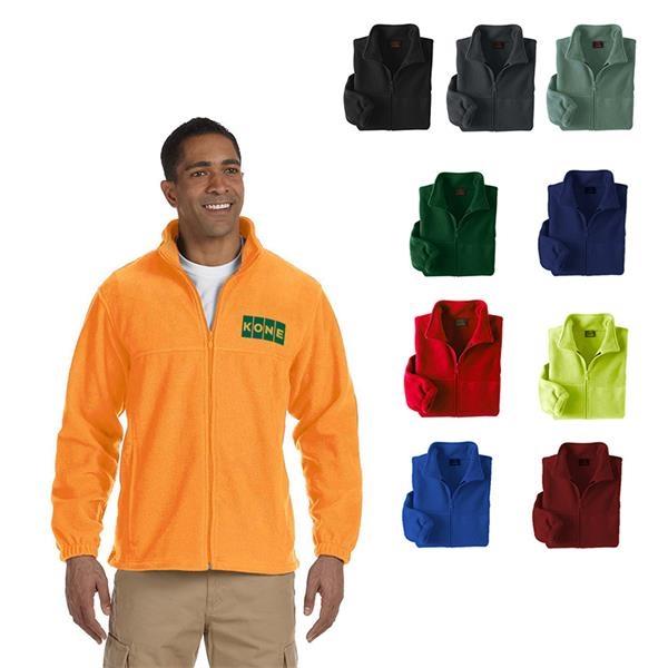 Harriton® Men's 8 oz. Full-Zip Fleece