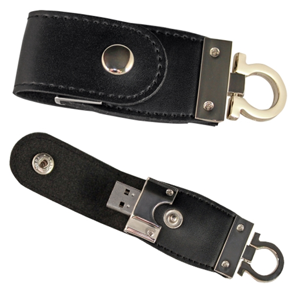 Mini Leather Flash Drive
