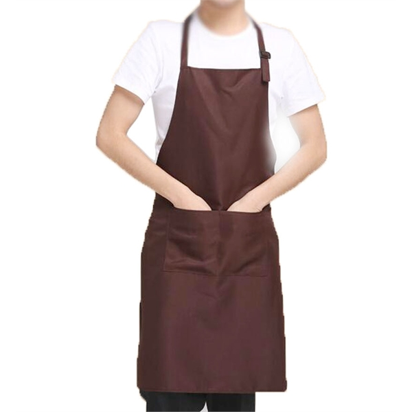 Mulit color polyester classic design work kitchen pocket