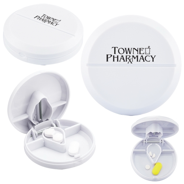 Compact Pill Cutter/Dispenser