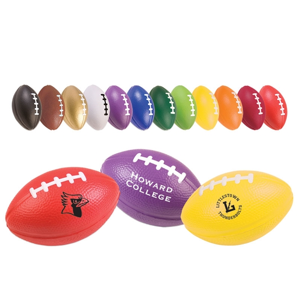 Small Football Stress Reliever - 3 1/2""
