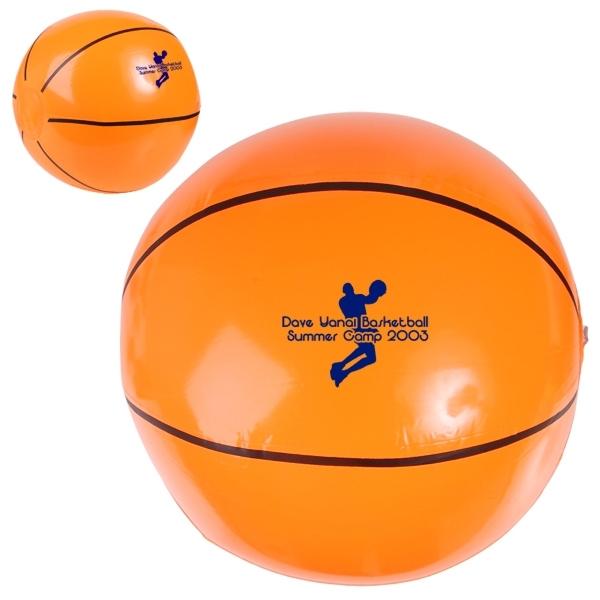 "14"" Basketball Beach Ball"