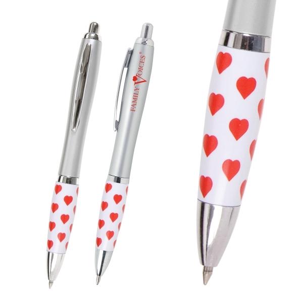 Emissary Click Pen - Heart/Healthcare Theme