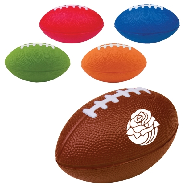 Large Football Stress Reliever - 5""