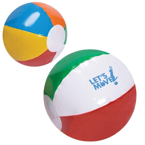 """6"""" Multicolored Beach Ball"""