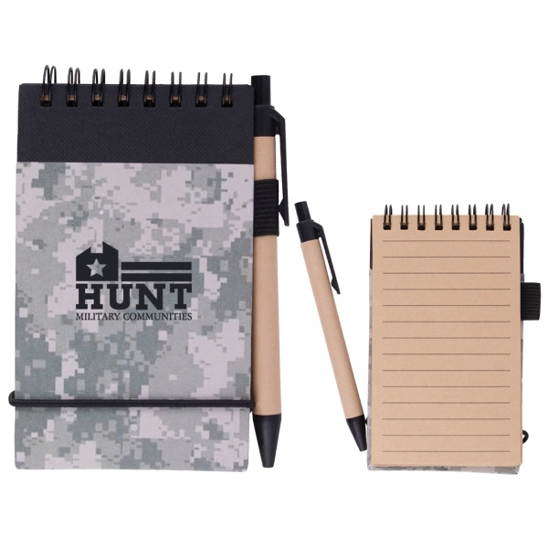 Digital Camo Eco Jotter