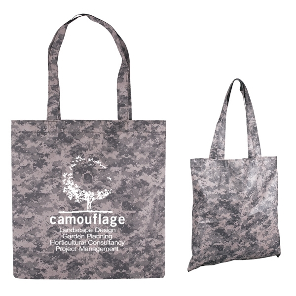 Digital Camouflage RPET Value Tote