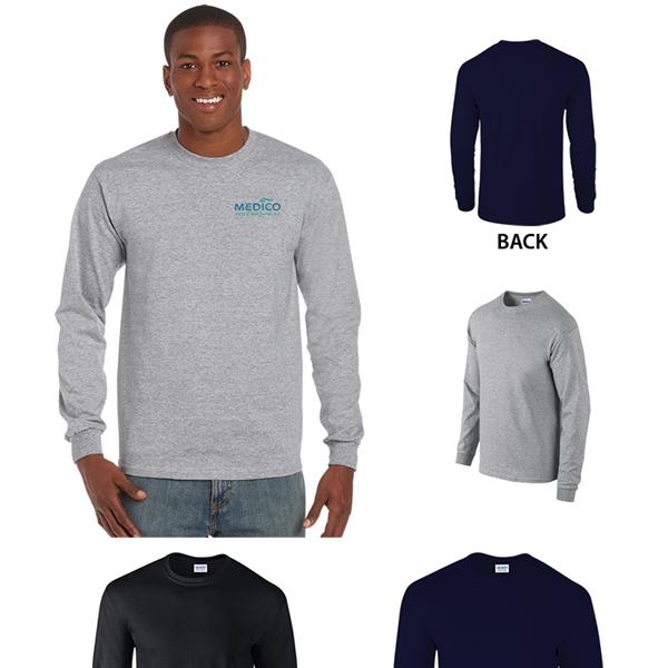 Gildan® Ultra Cotton® Classic Fit Adult Long Sleeve T-Shirt