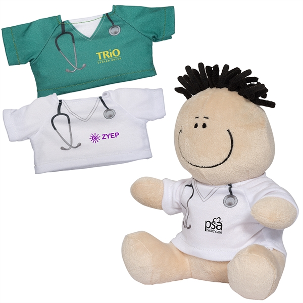 MopTopper™ Plush - Doctor & Nurse