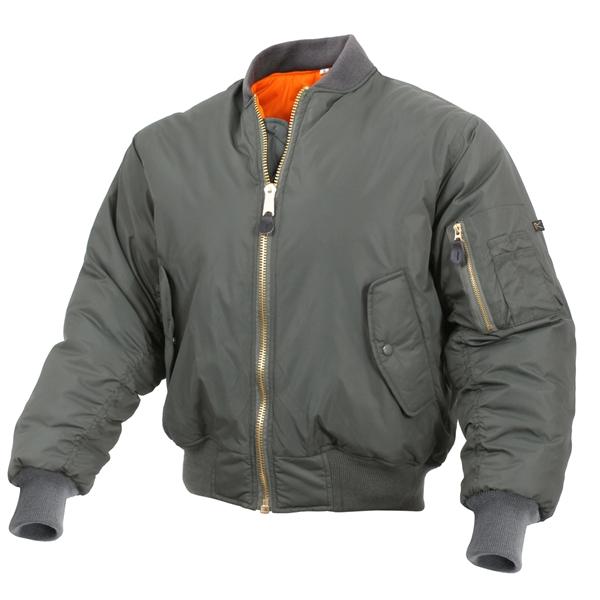 Sage Enhanced MA-1 Flight Jacket