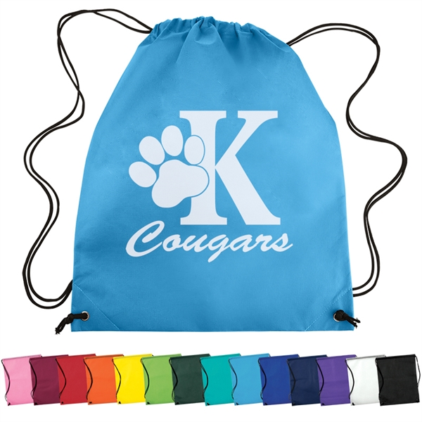 Nonwoven Drawstring Cinch-Up Backpack