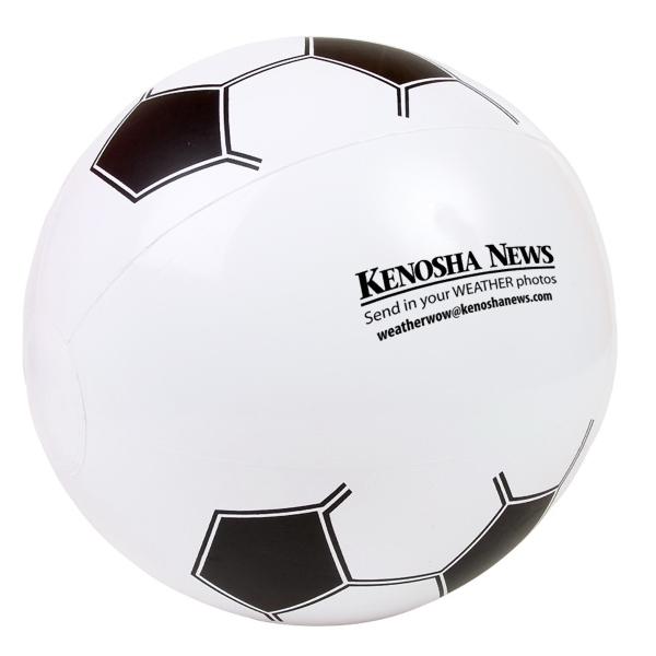 "14"" Soccer Beach Ball"
