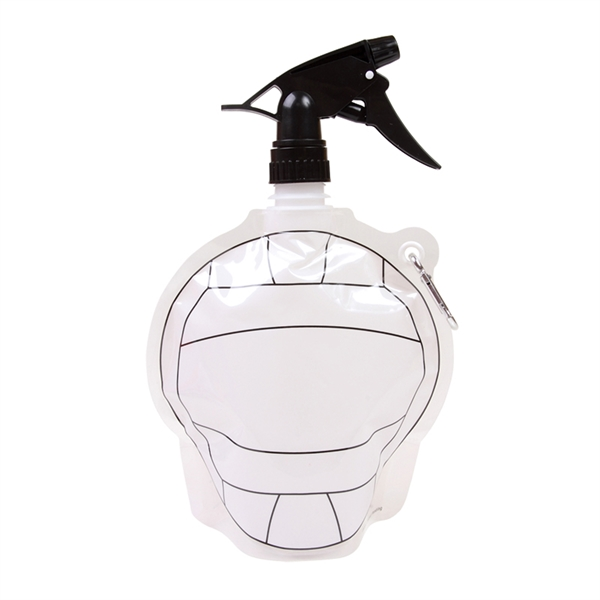 HydroPouch!™Volleyball Collapsible Spray Water Bottle
