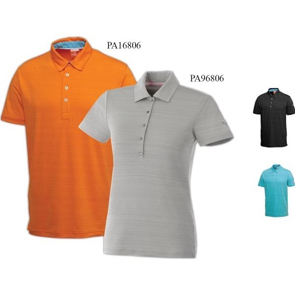 Men's Puma Golf Barcode Polo