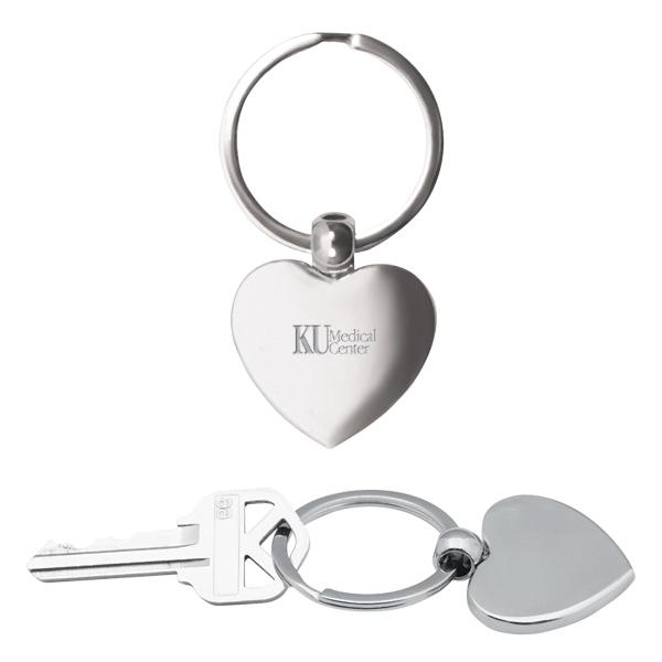 Heart Metal Key Chain