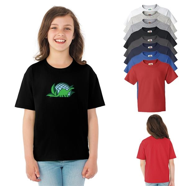 Fruit of the Loom®HD Cotton Youth T-Shirt - Colors