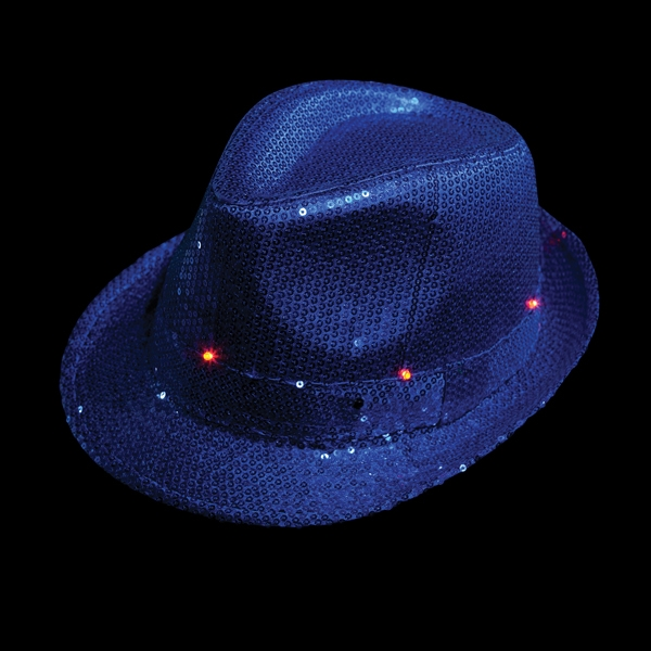 Light-Up Sequin Fedora