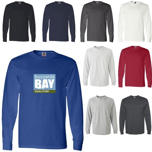Fruit of the Loom®Heavy Cotton Adult Long Sleeve T-Shirt