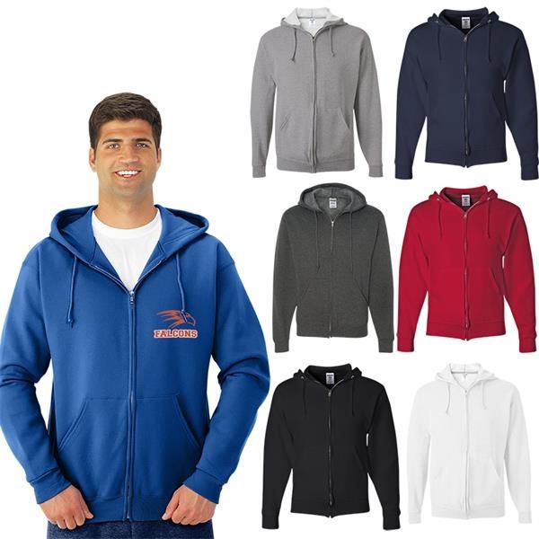 Jerzees®NuBlend®Full-Zip Hooded Sweatshirt