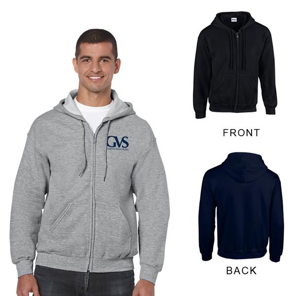 Gildan Heavy Blend Adult Full Zip Hooded Sweatshirt - Colors