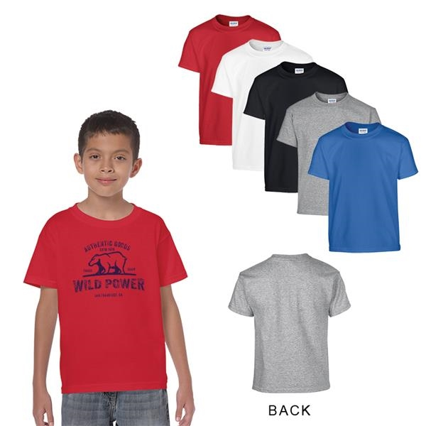 Gildan Heavy Cotton Classic Fit Youth T-Shirt 5.3 oz