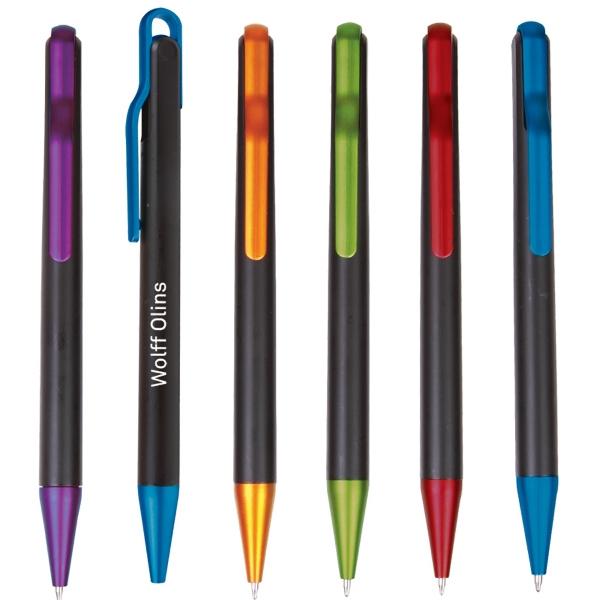 Funky Clip Plastic Pen