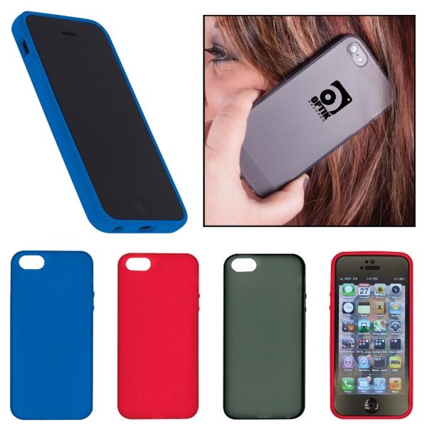 Gel Plastic Smartphone Case - Apple Smartphone 5/5S
