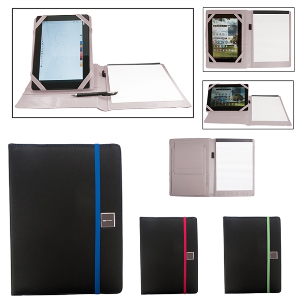 Full Size Portfolio With Adjustable Tablet Stand