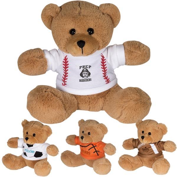 "7"" GameTime® Plush Bear"