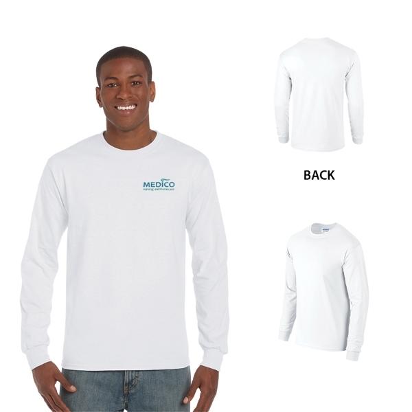 Gildan Ultra Cotton Adult Long Sleeve T-Shirt 6 oz.