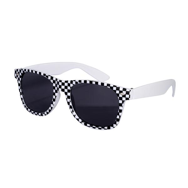 Checkered Flag (Racing Theme) Based Sunglasses