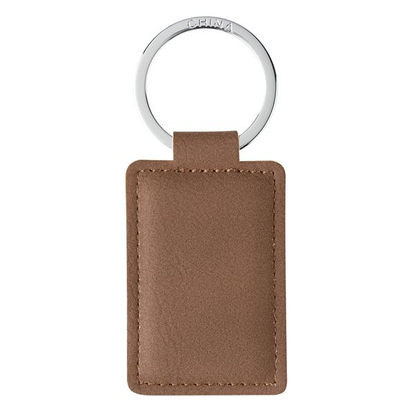 Leatherette Executive Key Tag