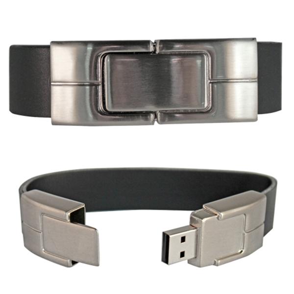 Rock N Roll Thick Wristband Flash Drive