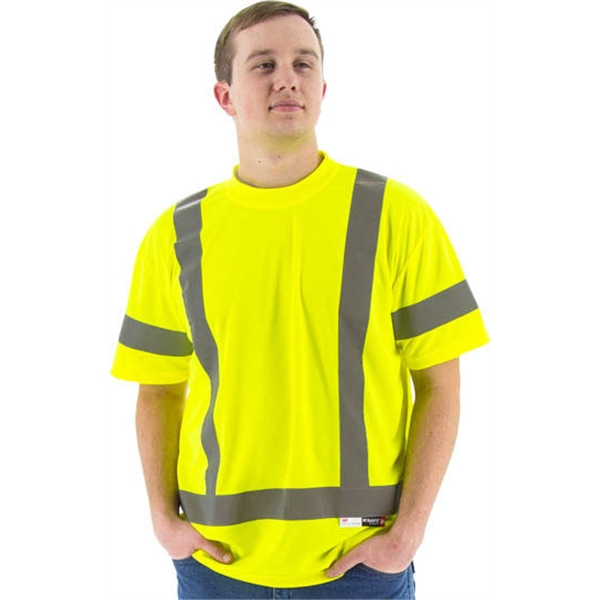 Majestic® High Visibility Short Sleeve T-shirt.