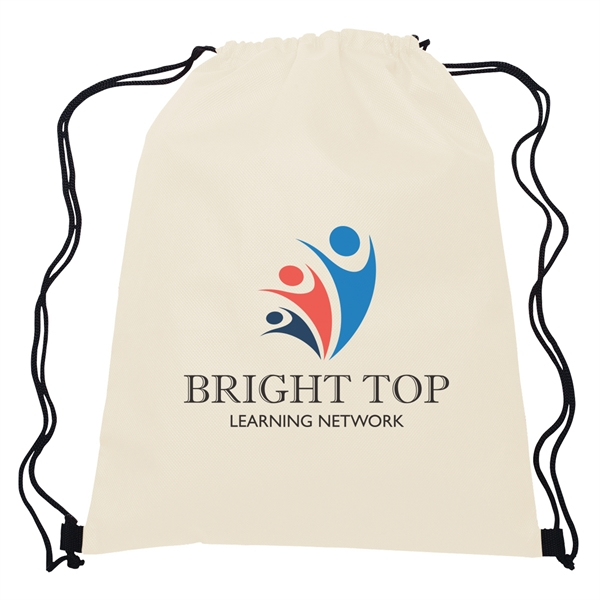 Non-Woven Hit Sports Pack - Non-woven sports pack with drawstring closure.