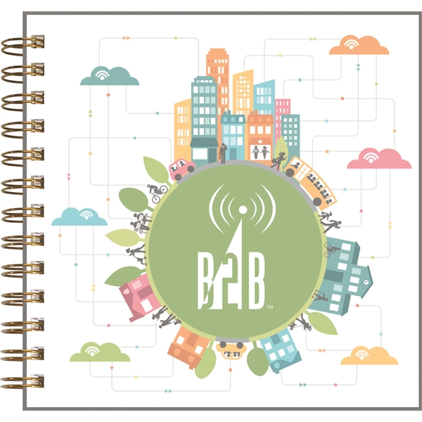 Clear View - Square Note Book