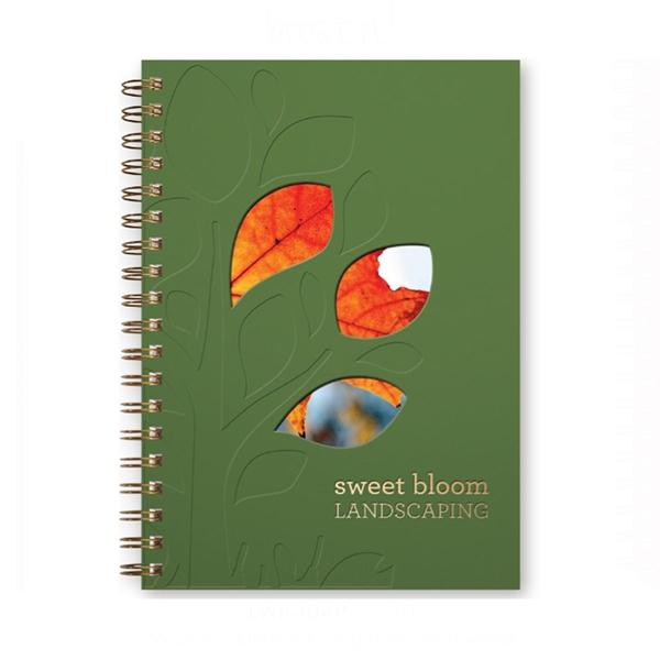 Smooth Matte Journals Window Pad - Medium Note Book